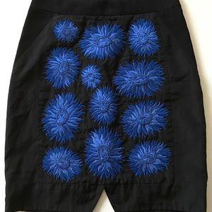 Anthropologie Skirts - Leifsdottir Astor Anthropologie black skirt 0 XS